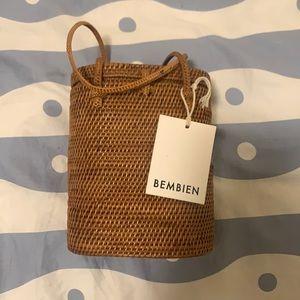 Bembien Marta Woven Wicker Bag